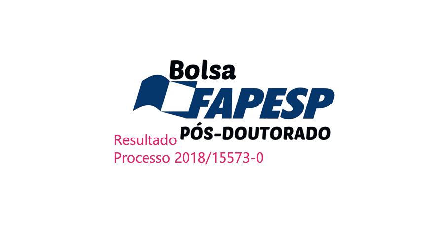 Resultado de bolsas de pós-doutorado – processo 2018/15573-0
