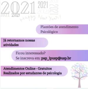 IPUSP abre inscrições no Plantão de Aconselhamento Psicológico (PAP)