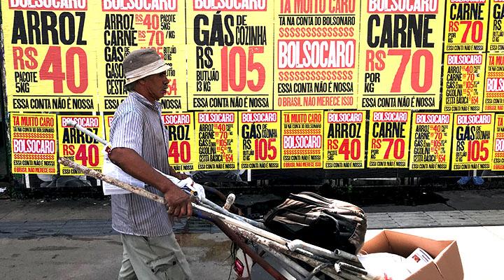 A realidade brasileira na pandemia