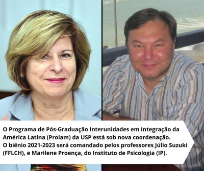 Júlio Suzuki e Marilene Proença e os estudos sobre América Latina